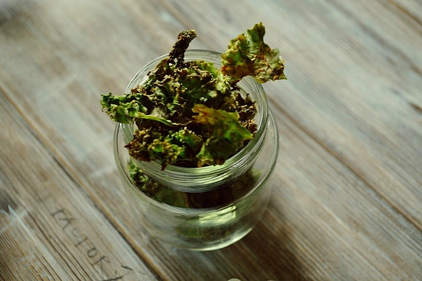 Kale chips - keto snacks recipes