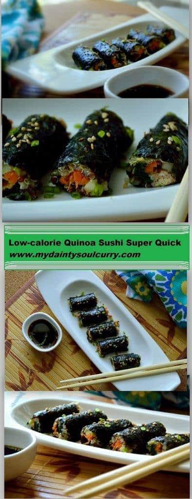 Healthy Quinoa Sushi