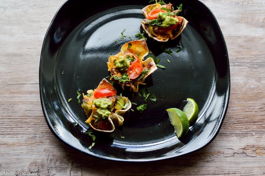 Mexican party recipes Wonton