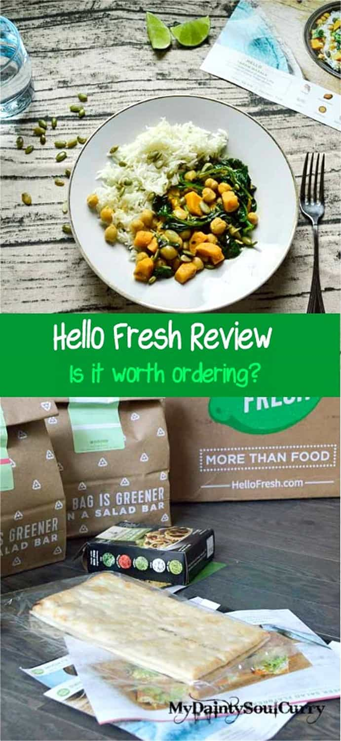 Hello Fresh experience and review