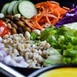 vegan barley salad