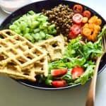 Masala Waffle Salad