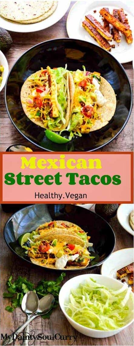 vegan street taco
