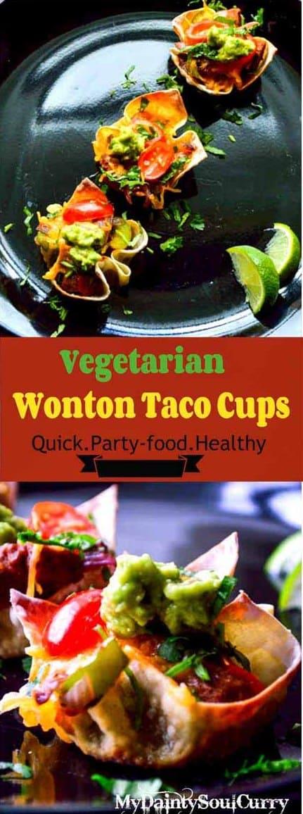 wonton taco cup