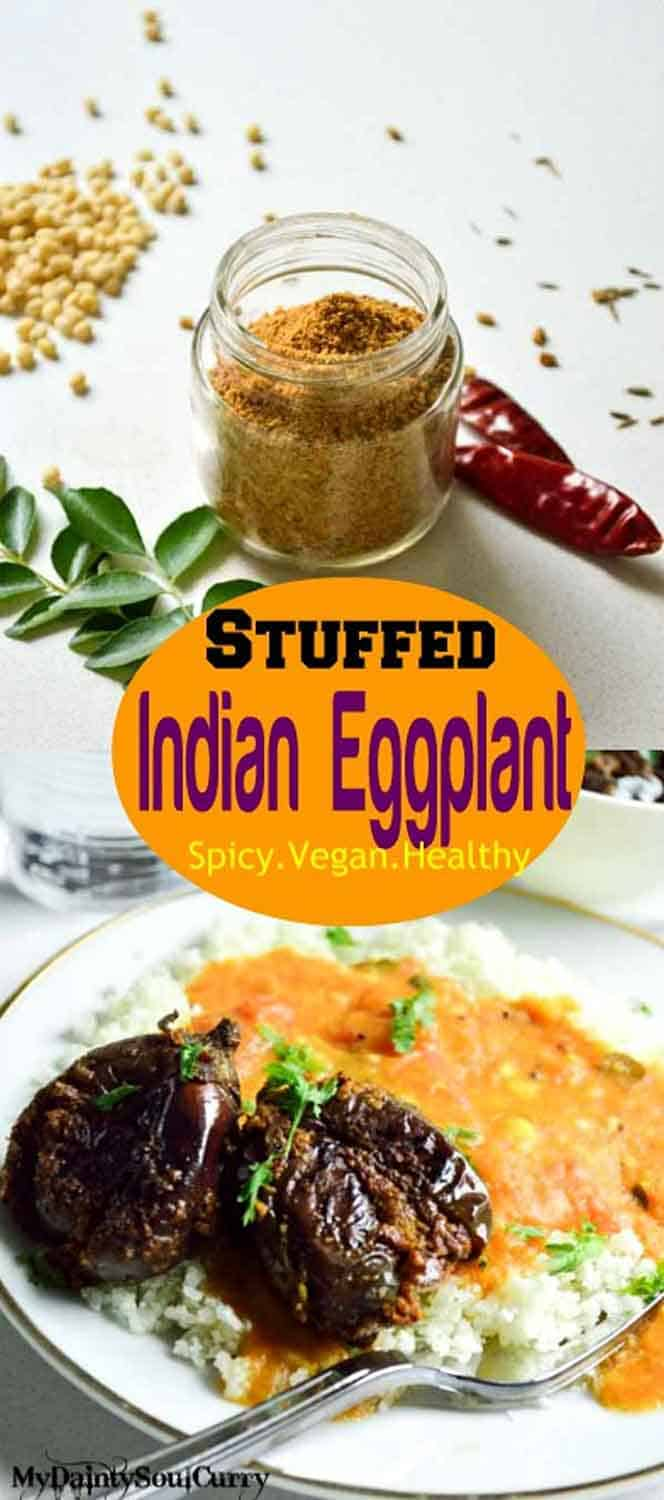 Spice stuffed baby eggplant recipe spice stuffed baby eggplant indian style vegan healthy forumfinder Gallery
