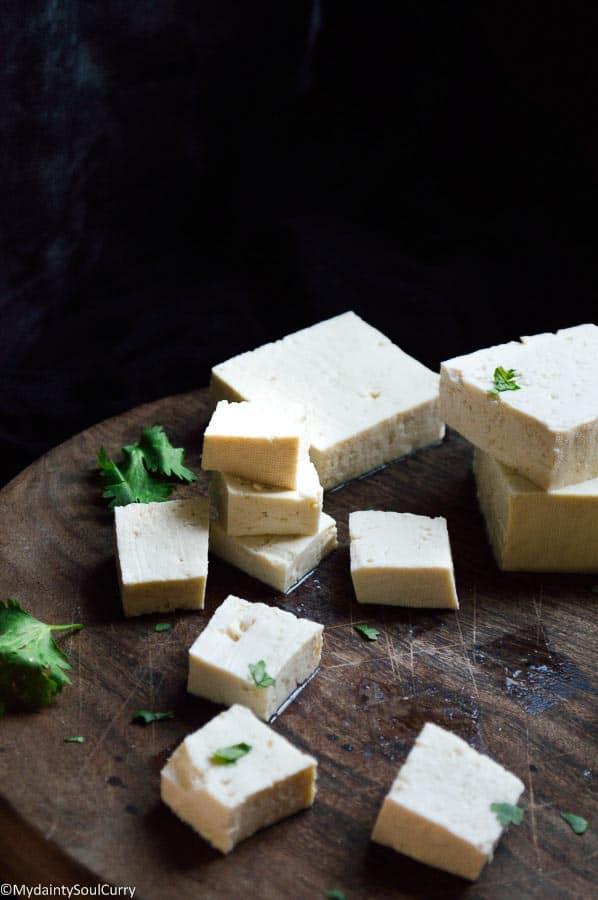 How to make silken tofu from soybeans