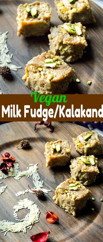 Vegan kalakand using homemade tofu # vegan # healthy #milkfudge