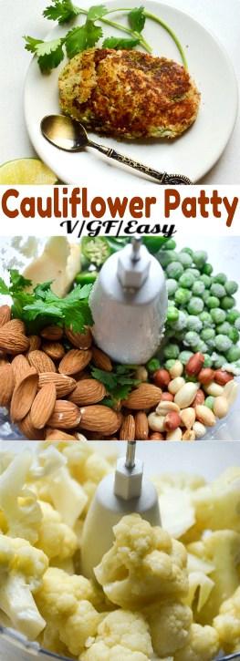 vegan low-carb cauliflower farali pattice/patties #vegan #healthy