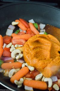 Creamy Vegan Fall Vegetable Curry Soup