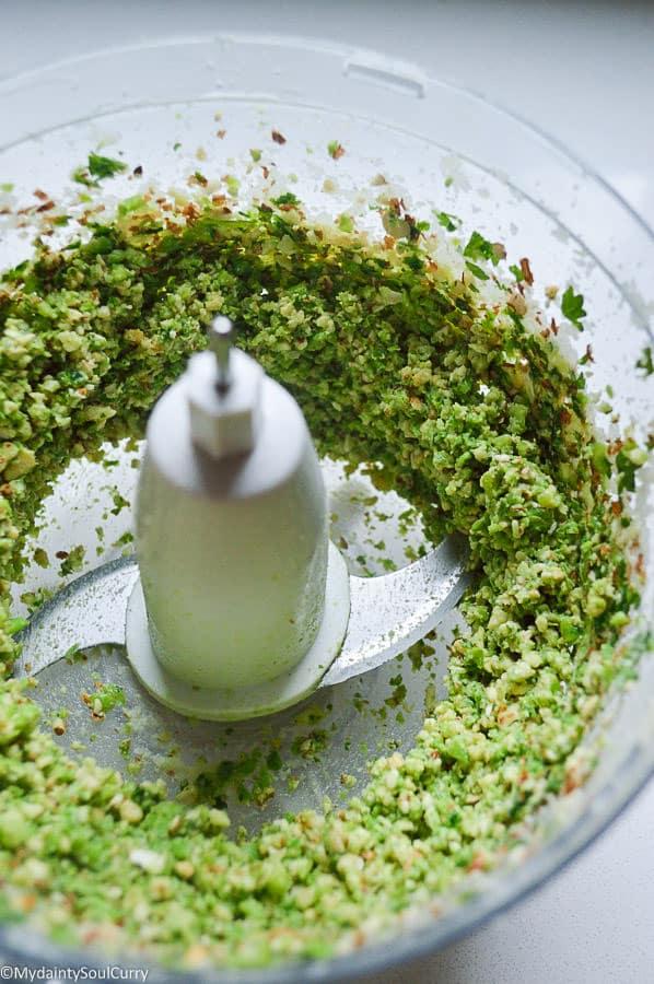 vegan low-carb cauliflower farali pattice/patties