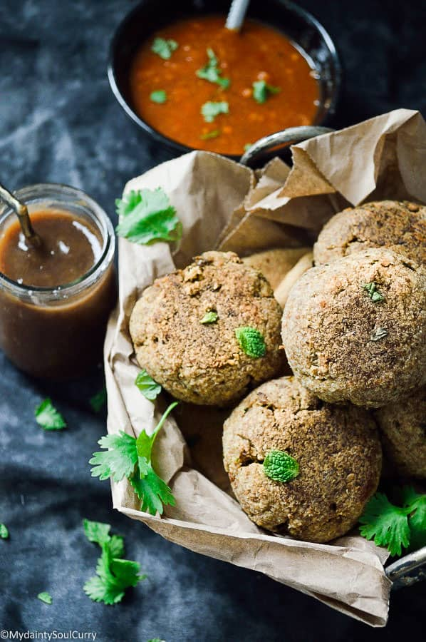 low-carb baked kachori