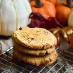 vegan Keto pumpkin cookies