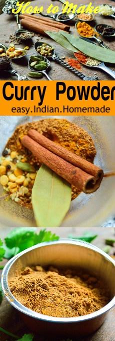 Easy Indian curry masala powder #easy #vegan