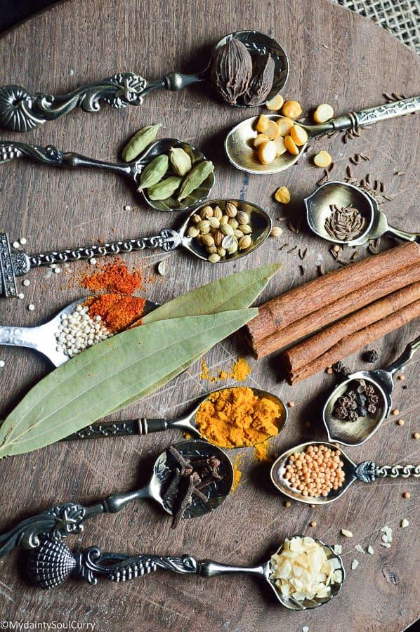 easy Indian curry masala powder