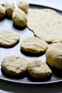seitan dough shaping