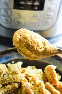 Seitan chicken in instant pot