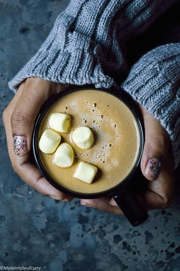 Keto Gingerbread Latte, Vegan gingerbread latte