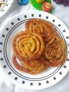 Whole-wheat jalebi