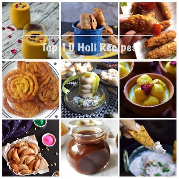 Top 10 Holi Recipes