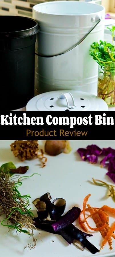 Kitchen compost bin review