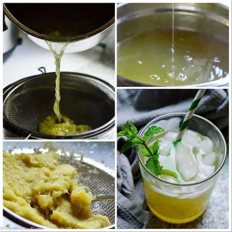 pineapple iced tea instant pot