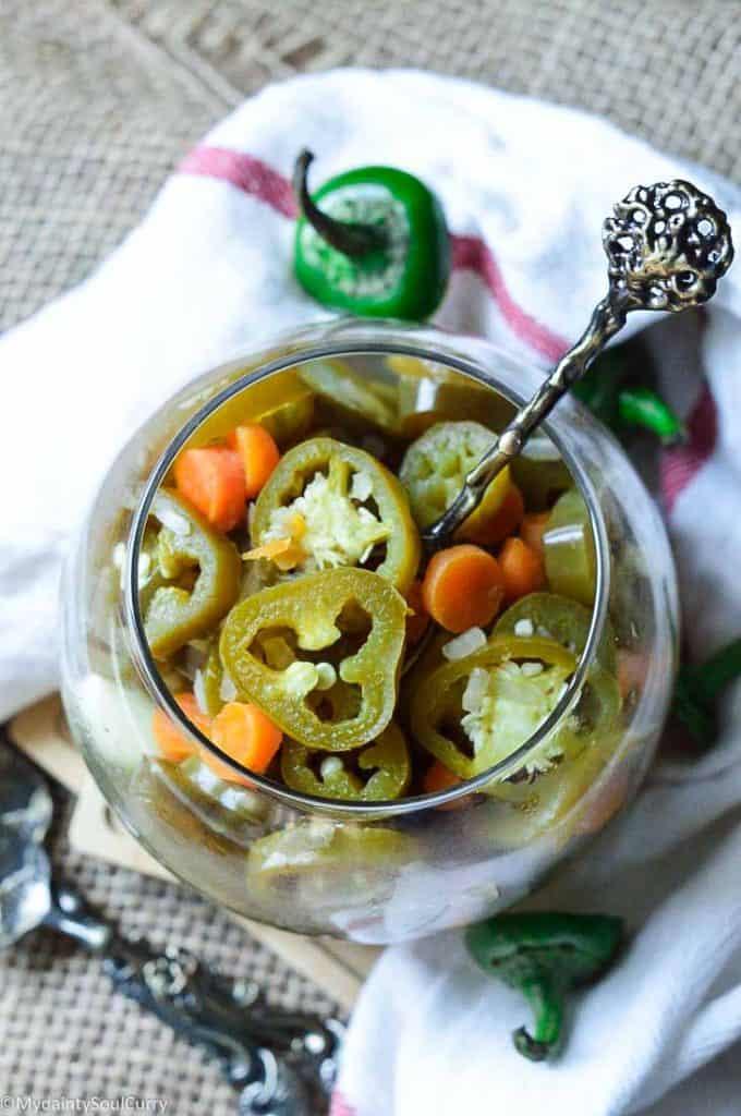 Instant pot pickled jalapenos