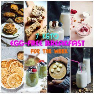 Keto breakfast no eggs