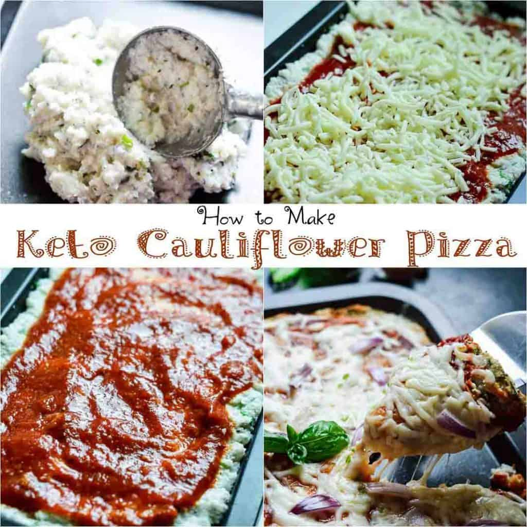 How to make keto cauliflower pizza crust without eggs