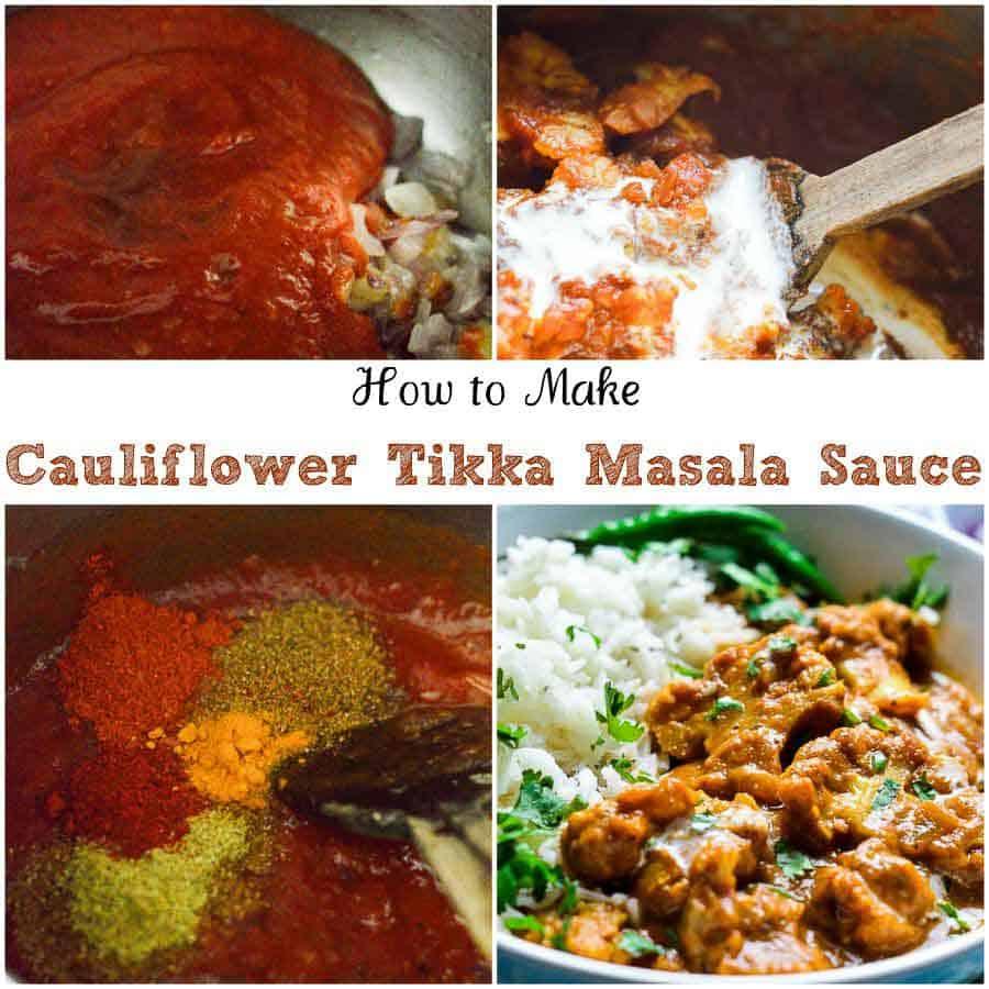 How to make instant pot tikka masala sauce