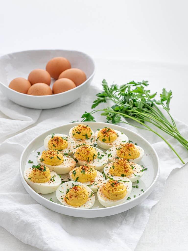 Classic Keto Deviled Eggs
