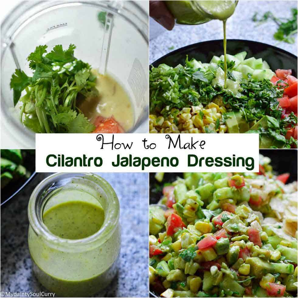 How to make cilantro jalapeno dressing