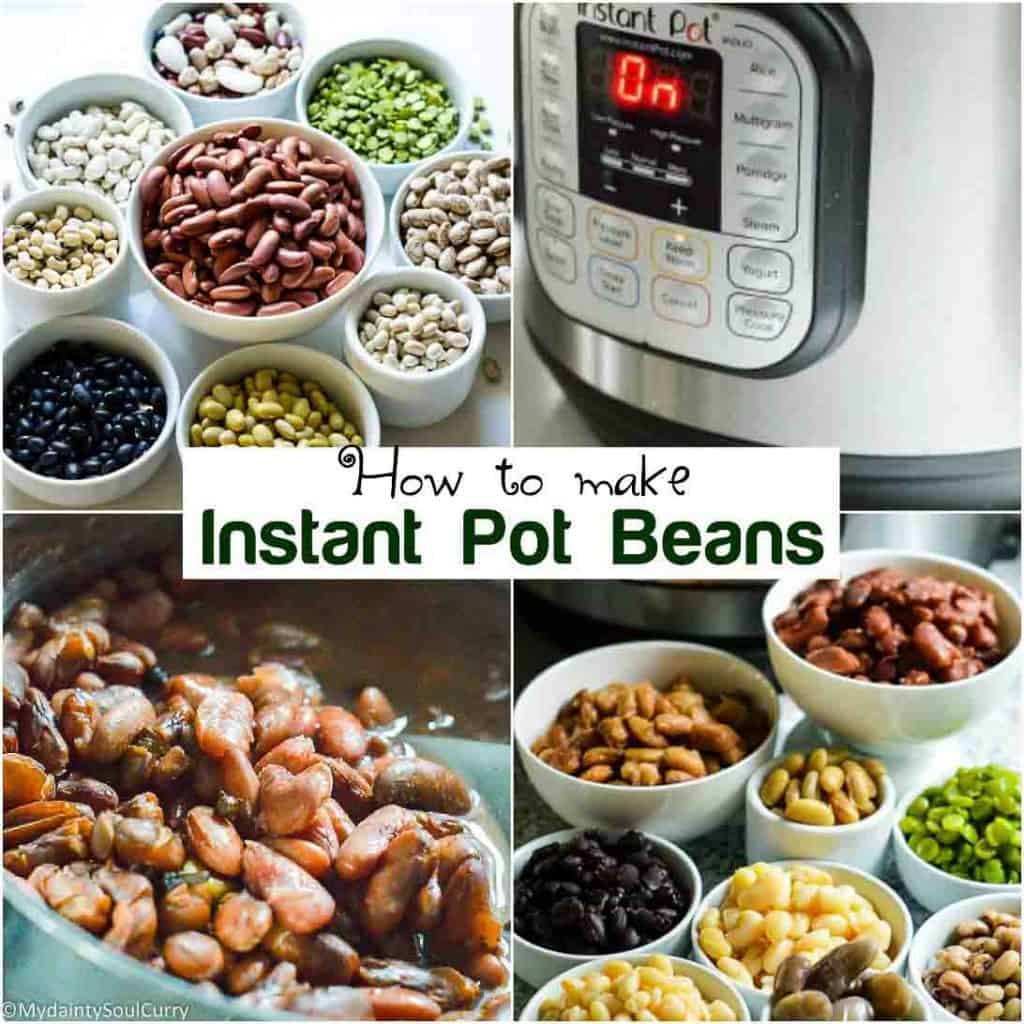 How to make instant pot beans