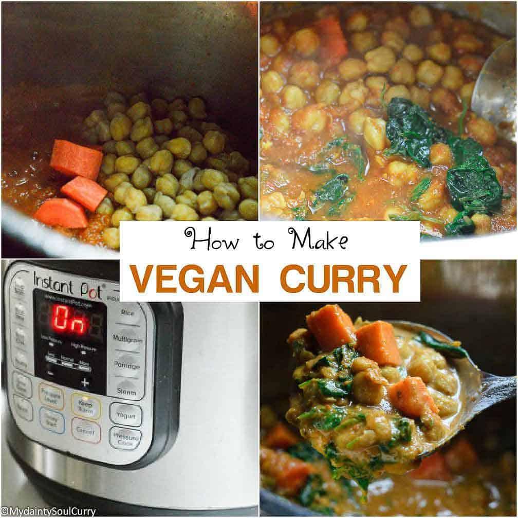 How to make vegan curry