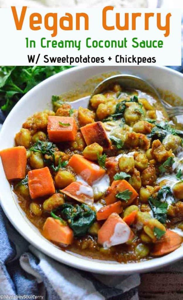 Vegan curry in instant pot