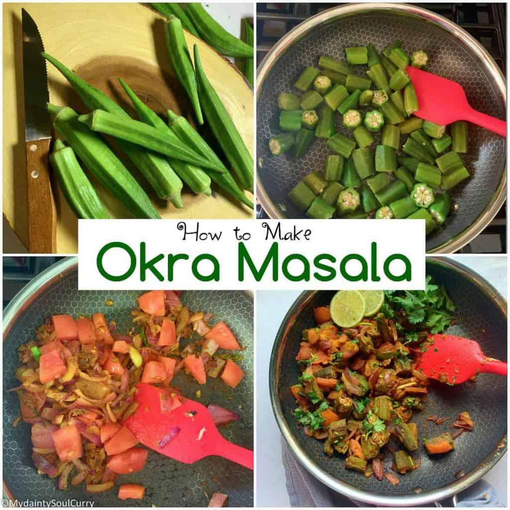 How to make okra masala