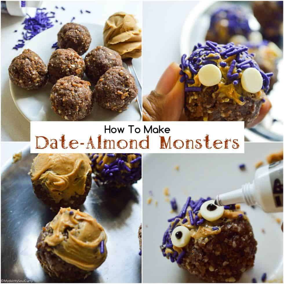 Making of Halloween dates monsters