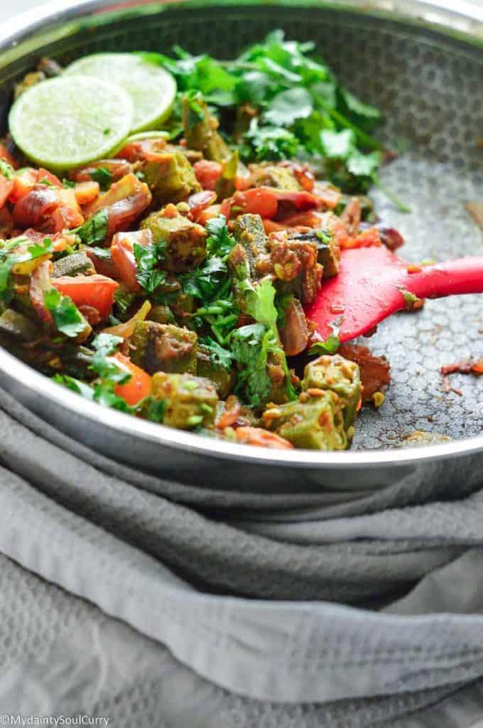 best Okra masala