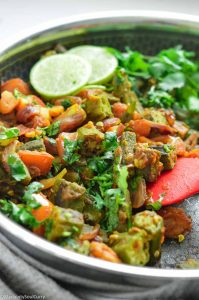 Easy Indian Okra curry