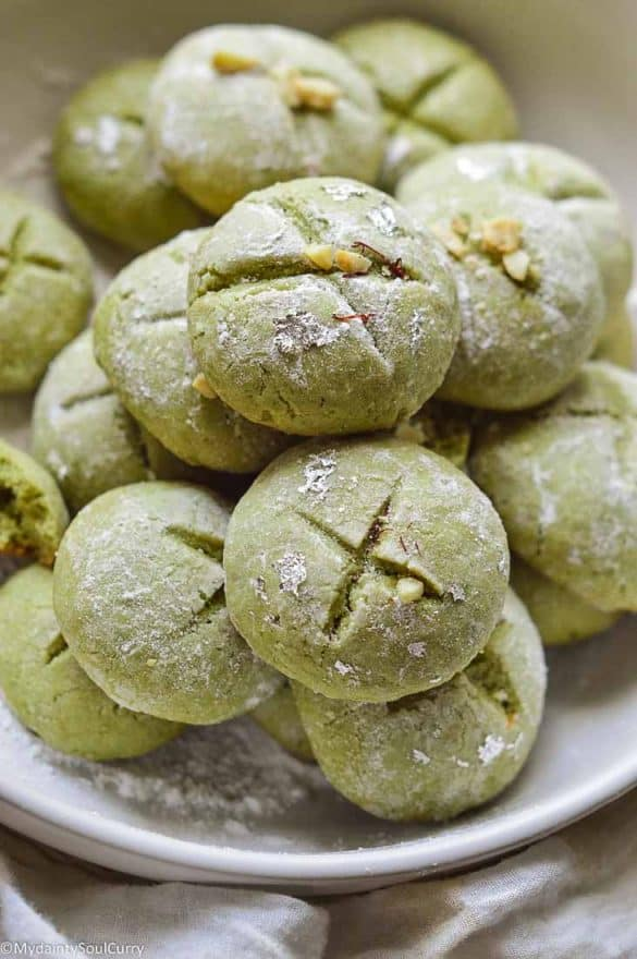 Indian Pista cookies