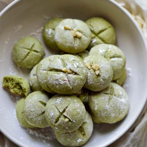 Indian Pistachio Cookies
