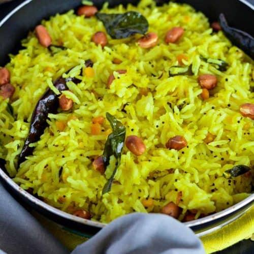 Easy Indian Lemon Rice