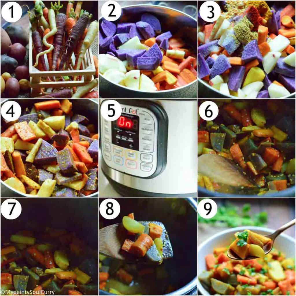 How to make instant pot carrots and potatoes
