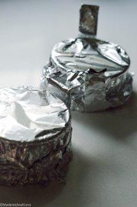 Covered cheesecake pan