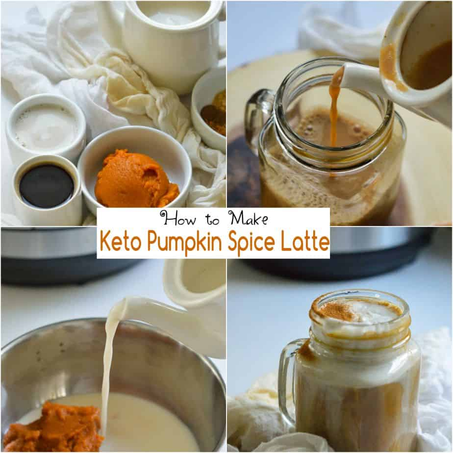 How to make vegan keto pumpkin spice latte