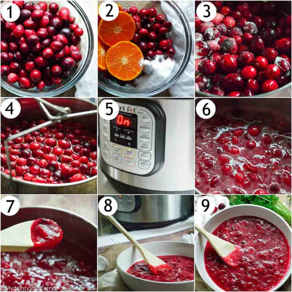 How to make Cranberry sauce