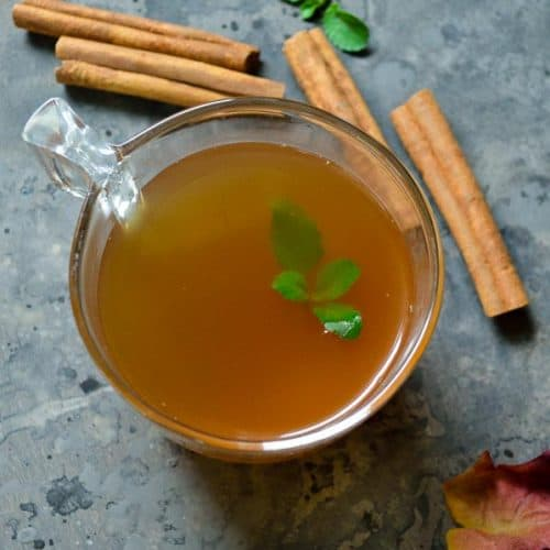 Apple cider in the instant pot