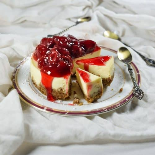 Holiday cheesecake