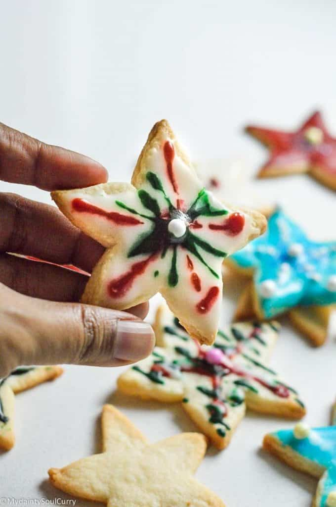 Christmas cookies vegan and keto