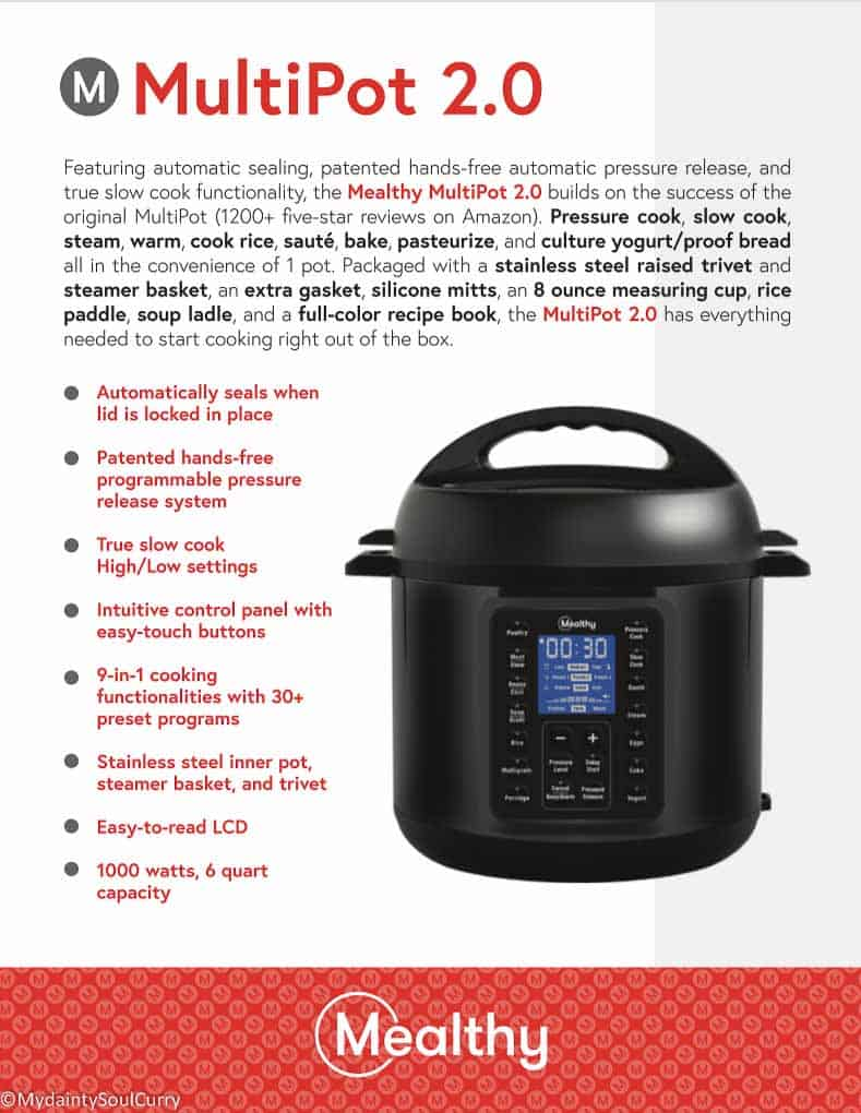 mealthy 2.0 Instant Pot