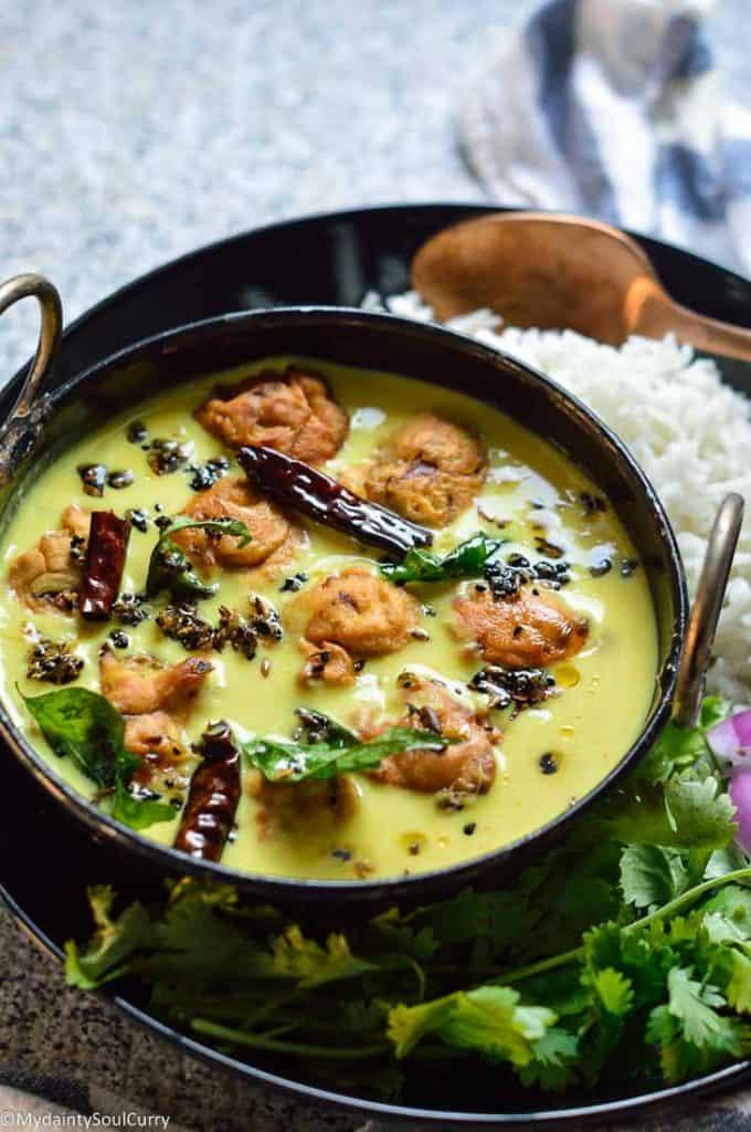 Instant pot kadhi chawal